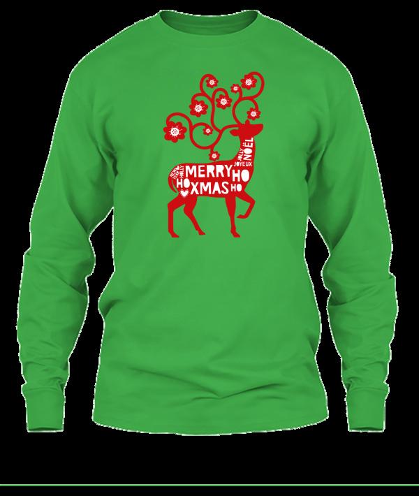 green shirt deer shirt
